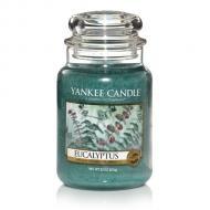 Bougie parfumée Grande jarre 2 mèches EUCALYPTUS Yankee Candle exclu US USA