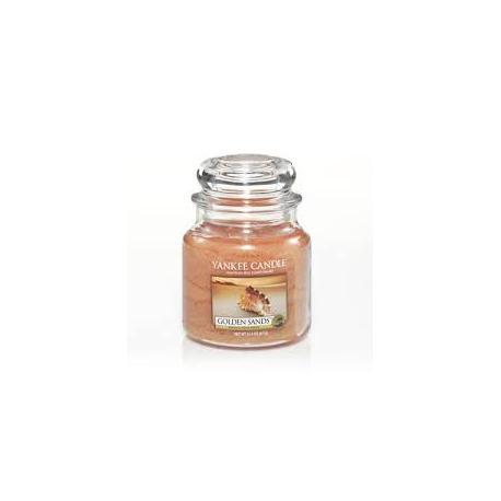 Bougie parfumée Moyenne Jarre GOLDEN SANDS Yankee Candle exclu US USA