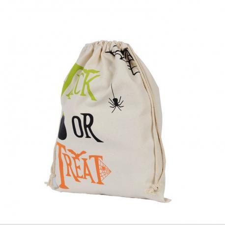 Grand pochon TRICK OR TREAT Halloween