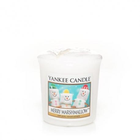 Bougie parfumée Votive MERRY MARSHMALLOW Yankee Candle exclu US USA