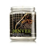 Bougie parfumée moyenne DENVER - SWEATER WEATHER Bath and Body Works candle US USA