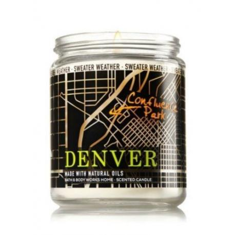 Bougie Parfumée Bath And Body Works Denver Sweater Weather Mason Jar
