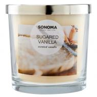 Bougie parfumée 3 mèches SUGARED VANILLA Sonoma candle US USA