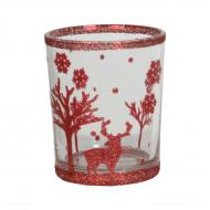 Votive holder RENNE ROUGE Village Candle
