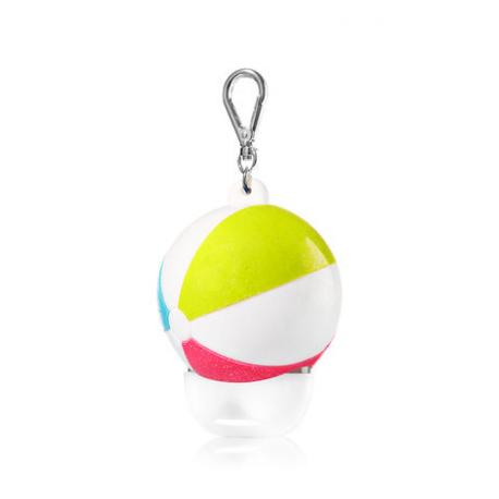 Pocketbac Holder BEACH BALL Bath and Body Works porte gel antibactérien US USA