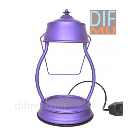 Lampe chauffante pour bougie LANTERNE VIOLET