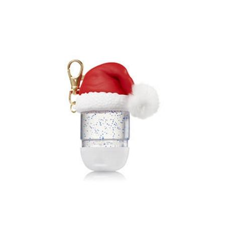 Pocketbac Holder SANTA HAT Bath and Body Works MADE IN USA