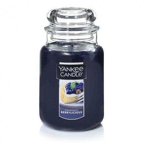 Bougie parfumée Grande Jarre BERRYLICIOUS Yankee Candle exclu US USA