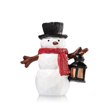 Magnet Lid SNOWMAN pour Bougie 3 mèches Bath and Body Works Noël christmas US USA