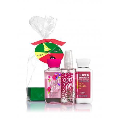 Gift Set SWEET PEA Bath and Body Works idée cadeau coffret US USA
