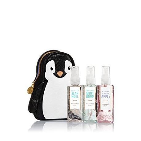 Gift Set COOL PENGUIN Bath and Body Works coffret idée cadeau trousse pingouin US USA