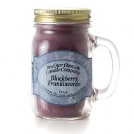 Mason Jar BLACKBERRY FRANKINCENSE Our Own Candle Company