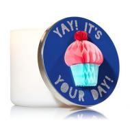 Magnet Lid CUPCAKE pour Bougie 3 mèches Bath and Body Works