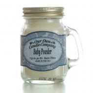 Mini Mason Jar BABY POWDER Our Own Candle Company