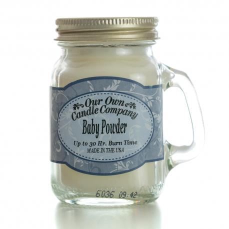 Mini Mason Jar BABY POWDER Our Own Candle Company