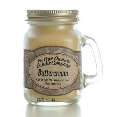 Mini Mason Jar BUTTERCREAM Our Own Candle Company