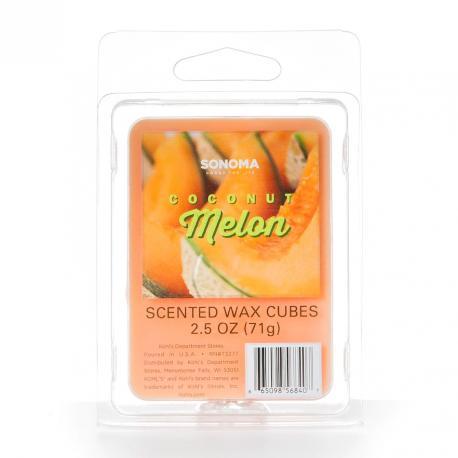 Cire parfumée COCONUT MELON Sonoma MADE IN USA