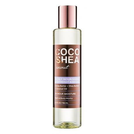 Huile pour le corps COCOSHEA COCONUT Bath and Body Works body oil US USA