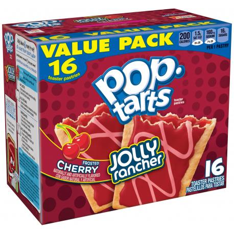Kellogg's Pop tarts JOLLY RANCHER CERISE / FROSTED