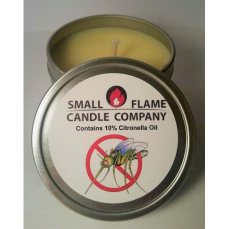 Bougie anti-moustiques CITRONELLA Small Flame Candle Company US USA