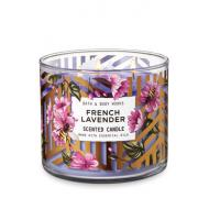 Bougie 3 mèches FRENCH LAVENDER Bath and Body Works