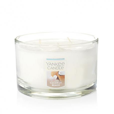 Bougie parfumée Tumbler 3 mèches COCONUT BEACH Yankee Candle exclu US USA