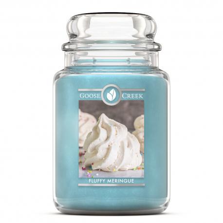 Bougie parfumée Grande Jarre 2 mèches FLUFFFY MERINGUE Goose Creek Candle US USA