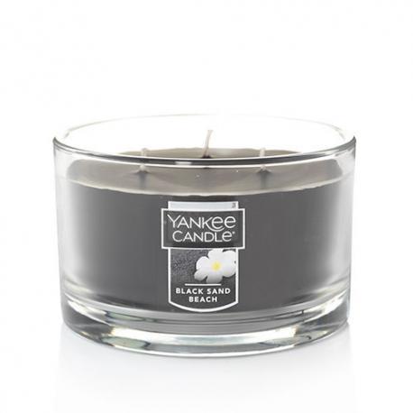 Bougie parfumée 3 mèches BLACK SAND BEACH Yankee Candle US USA