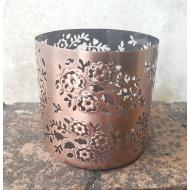 Piédestal Photophore Jar Holder PAISLEY COPPER Sonoma  US USA