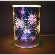 Brûleur de cire électrique effets 3D STARS