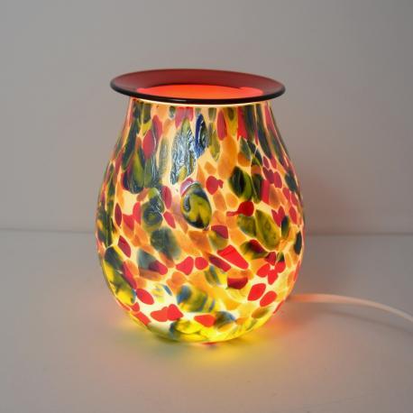 Brûleur de cire électrique ART GLASS RED