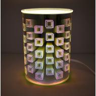 Brûleur de cire électrique effets 3D SQUARES