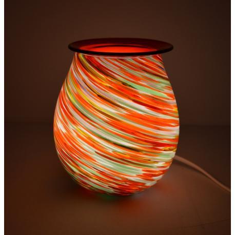Brûleur de cire électrique ART GLASS TOURBILLON 2