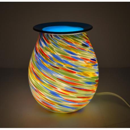 Brûleur de cire électrique ART GLASS TOURBILLON