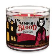 Bougie 3 mèches VAMPIRE BLOOD Bath and Body Works
