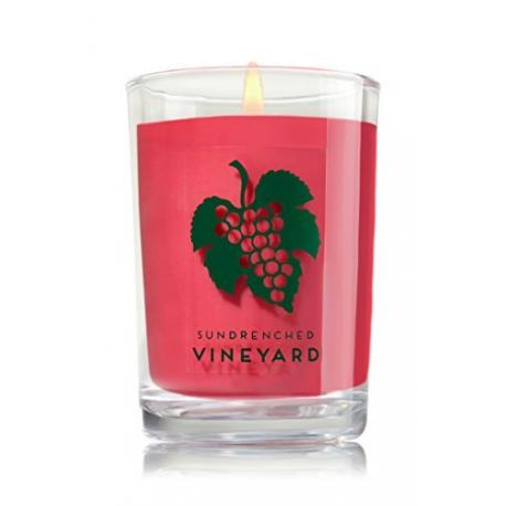 Bougie moyenne SUNDRENCHED VINEYARD Bath and Body Works candle US USA
