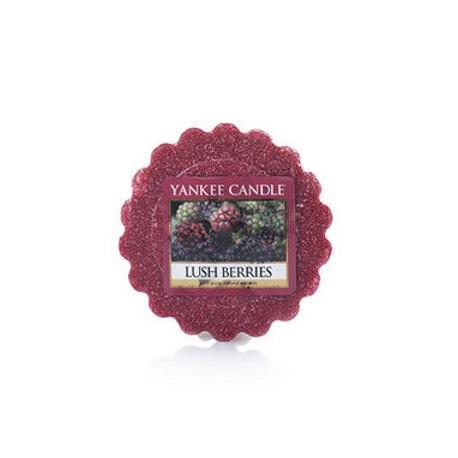 Tartelette de cire parfumée LUSH BERRIES Yankee Candle wax tart US USA