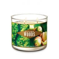 Bougie 3 mèches AUTUMN WOODS Bath and Body Works