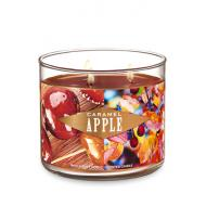 Bougie 3 mèches BOURBON PUMPKIN Bath and Body Works
