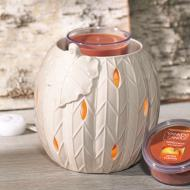 Scenterpiece BRONZE PUMPKIN avec LED et Timer Yankee Candle exclu US USA Halloween