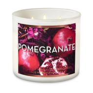 Bougie 3 mèches POMEGRANATE Bath and Body Works