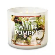 Bougie 3 mèches WHITE PUMPKIN Bath and Body Works