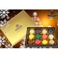 Coffret de 12 cires NOEL Busy Bee Candles