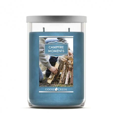Tumbler 2 mèches CAMPFIRE MOMENTS Goose Creek Candle