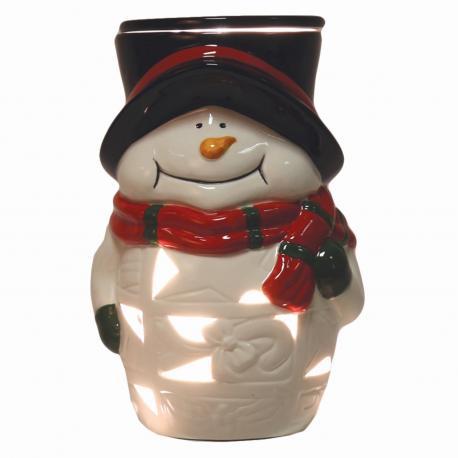 Brûleur de cire électrique SNOWMAN Bonhomme de neige christmas noël