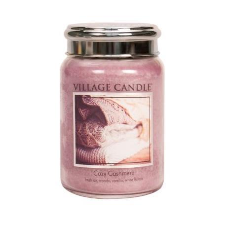 Grande Jarre 2 mèches COZY CASHMERE Village Candle