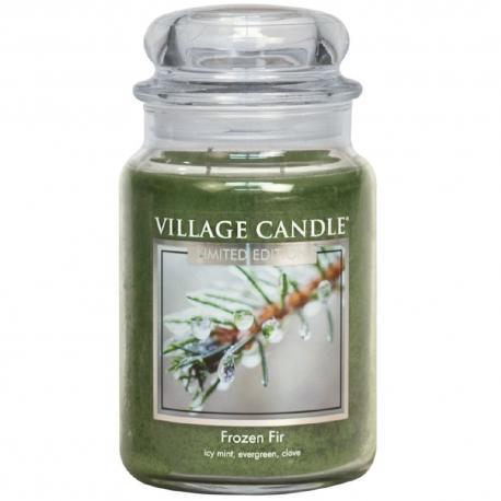 Grande Jarre 2 mèches FROZEN FIR Village Candle