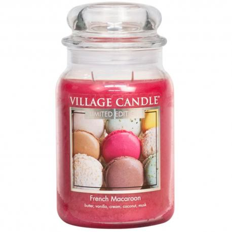 Grande Jarre 2 mèches FRENCH MACAROON Village Candle