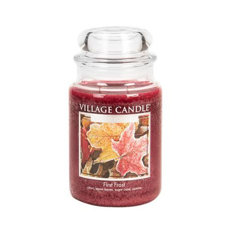 Grande Jarre 2 mèches FIRST FROST Village Candle