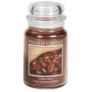 Grande Jarre 2 mèches COFFEE BEAN Village Candle